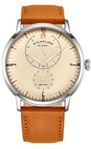 Brown Leather Strap Watch 42mm