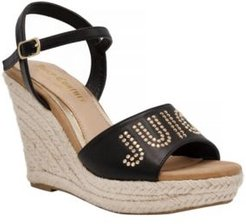 Cristall Platform Wedges Women's Shoes