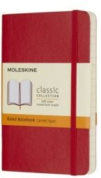 Soft Cover Ruled Pocket Classic Notebook