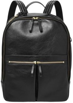 Tess Leather Laptop Backpack