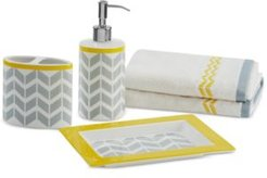 Intelligent Design Nadia/Elle 5-Pc. Bath Accessory Set Bedding