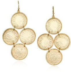 Capwell & Co. Coin Kite Earring