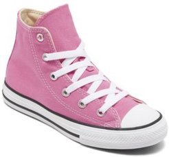 Little Girls Chuck Taylor Hi Casual Sneakers from Finish Line