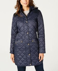 Burne Hooded Quilted Coat