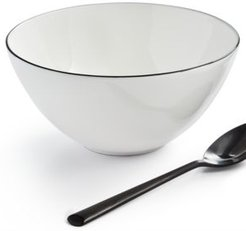 Black Line Cereal Bowl, Created for Macy's