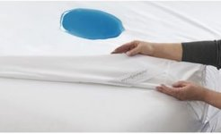 """Hotel Laundry 8"""" to 12"""" Stretchy Fit Waterproof Mattress Encasement Set - Queen"""