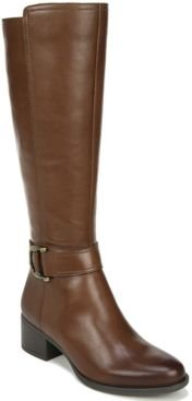 Kelso Leather Wide Calf High Shaft Boots Women's Shoes