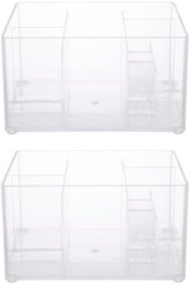 Drawer Organizer Bin, 8 Compartments, Set of 2 Bedding