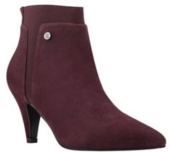Bari Pointy Toe Booties Women's Shoes