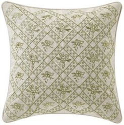 "Juliette 18"" Square Decorative Pillow Bedding"
