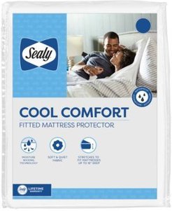 Cool Comfort Fitted Mattress Protector, King