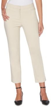 Lightweight Satin Twill Ankle Pant