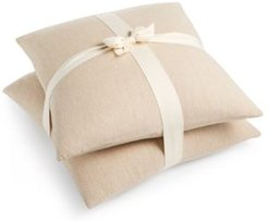 "2-Pk. Woven 20"" x 20"" Decorative Pillow Set"