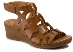 Tiney Gladiator Wedge Sandals Women's Shoes