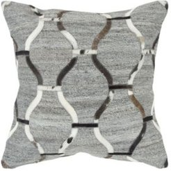 Geometric Polyester Filled Decorative Pillow