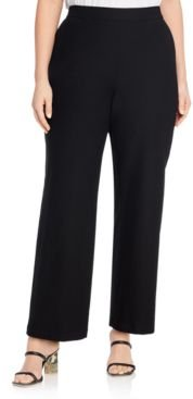 System Stretch Crepe Straight Pants