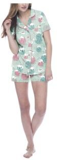 Yarn Kitties Short Sleeve Classic Pajama Set