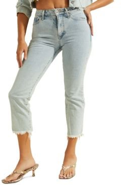 1981 High-Rise Embroidered Jeans