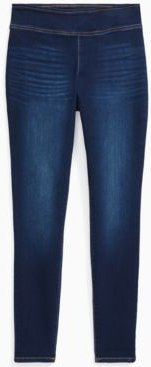 Inc Plus Size Pull-On Denim Jeggings, Created for Macy's
