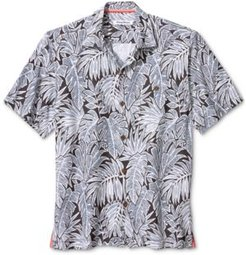 Coconut Point Fronds-Print Camp Shirt
