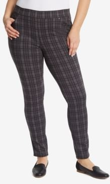 Plus Size Avery Pull on Slim Long Pant