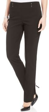 Petite Studded Pull-On Pants, Petite & Petite Short, Created for Macy's