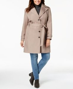 Plus Size Waterproof Trench Coat, Created for Macys