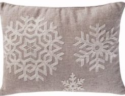 Home Spruce Snowflake Pillow