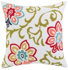 Home Clementine Spring Floral Pillow