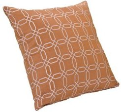 "Mandarin 16"" Designer Throw Pillow"