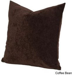 "Padma Coffee Bean 26"" Designer Euro Throw Pillow"