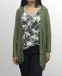1804 Womens Light Weight Cocoon Cardigan