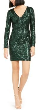 Nude Sequin Bodycon Dress, Created for Macy's