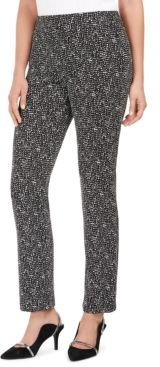 Printed Straight-Leg Pants, Created For Macy's