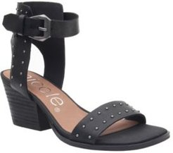 Amabel Double Strap Low-Heeled Sandal Women's Shoes