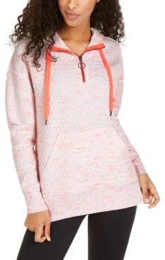 Quilted Quarter-Zip Hoodie, Created For Macy's