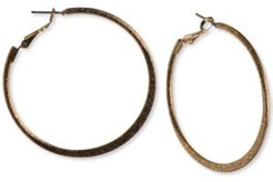 """Gold-Tone Large Hoop Earrings, 2.12"""", Created for Macy's"""