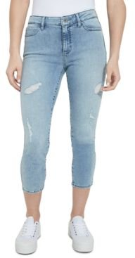 Eco 1981 Cropped High-Rise Skinny Jeans