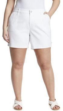 Plus Size Short with Tabs
