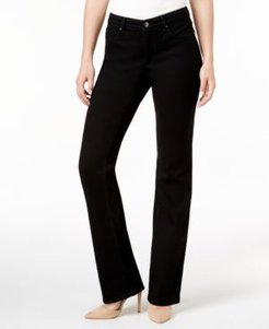 Petite Prescott Tummy-Control Bootcut Jeans, Created for Macy's