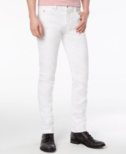 Slim-Tapered Fit Stretch White Jeans
