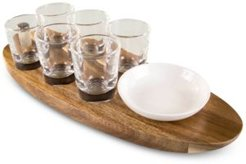 Legacy by Picnic Time Cantinero Shot Glass Serving Tray