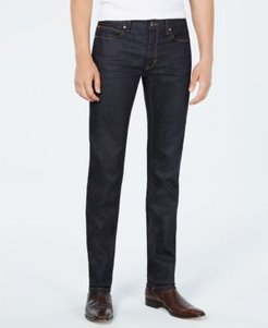 Slim-Fit Dark Blue Jeans