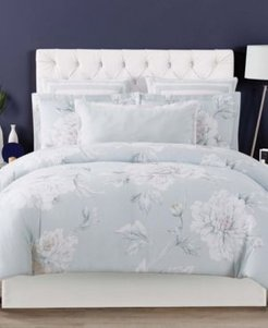 Stem Floral Full/Queen 3 Piece Duvet Cover Set Bedding