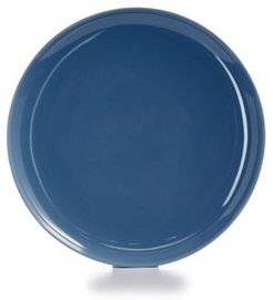 Modern Dinnerware Porcelain Lake blue Dinner Plate, Created for Macy's