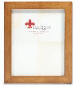 "766045 Nutmeg Wood Picture Frame - 4"" x 5"""