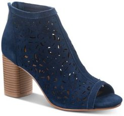 Glia Suede Shooties, Created for Macy's Women's Shoes