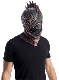 Aquaman Movie Adult Trench Person Overhead Latex Mask