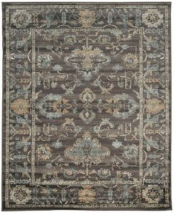 "Closeout! Km Home 3562/0041/Lightbrown Cantu Brown 5'3"" x 7'3"" Area Rug"
