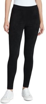 Madison Faux-Suede Pull-On Pants